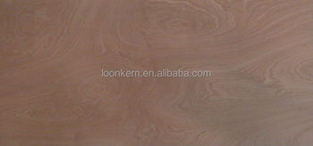 0.5mm cheap red hardwood veneer for plywood back