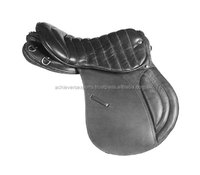 English Saddle with Quilted Seat