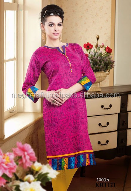 Summer special cotton kurti -Wholesale Designer kurti-party wear cotton Kurta