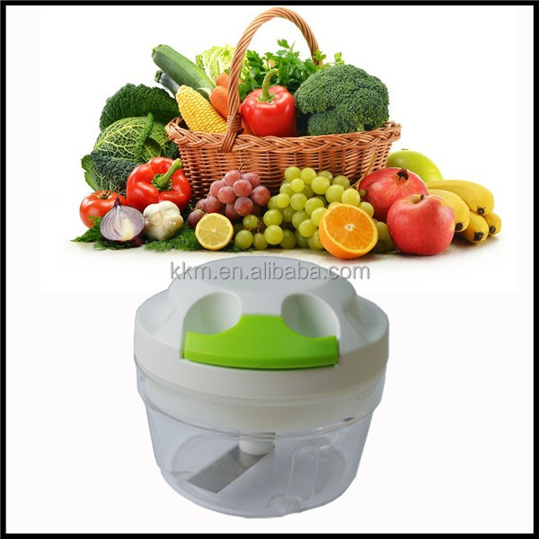 Kitchen Processing Machine manual food chopper, vegetable slicer cutter chopper