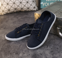 W11074G 2016 new style canvas shoes fsahionable women's shoes
