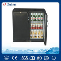 850MM height 2 doors Back Bar Beer Cooler, bottle cooler_LG-198M