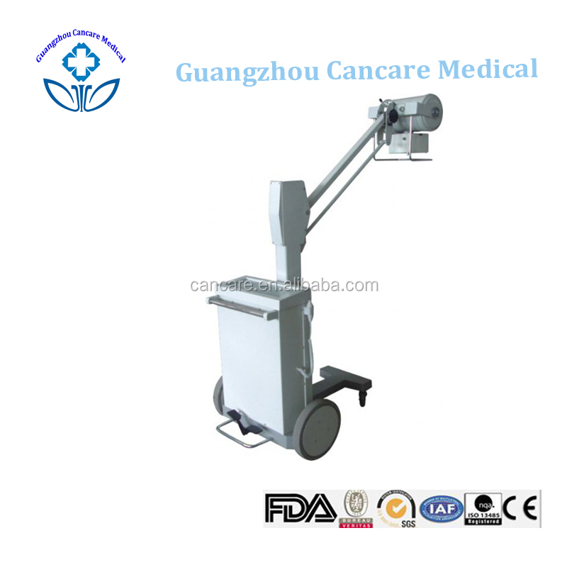 100mA Mobile Portable Medica Radiographyl X-ray Machine