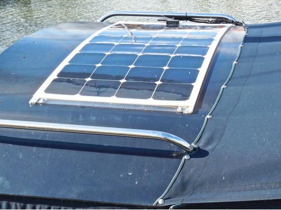 100w 18v Sunpower Semi Flexible Solar Panels For Boats