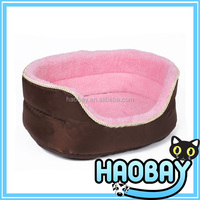 Factory directly cute pink pet dog bed