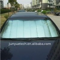 Car window sunshade bubbel foil heat insulation
