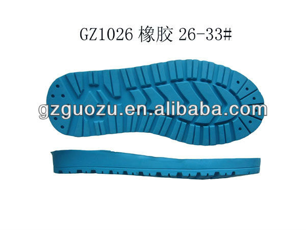kids soft rubber soles for shoe making