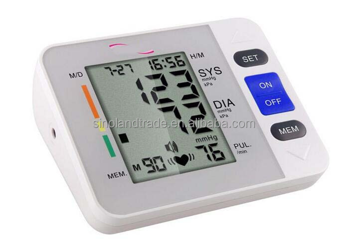 Digital upper arm type blood pressure monitor ,Upper arm B.P. monitor
