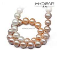 Elegant peal necklace multi color high quality pearl necklace jewelry