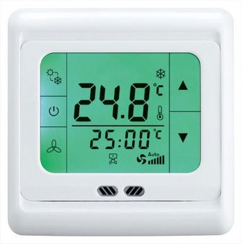digital touch thermostat 0-10V with feedback voltage 24V