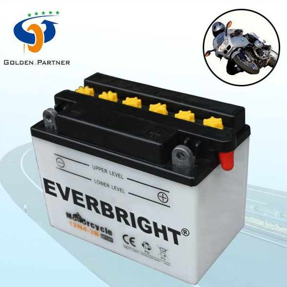 General type 12v 4ah Chinese cheap motorcycles battery
