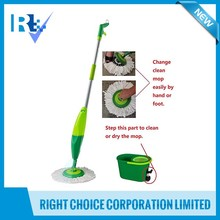 Household cleaning tools ABS 140(H) x 30(W) cm Spin Mop with Bucket