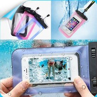 Export PVC Waterproof Pouch For iPhone 6 plus Other Phone