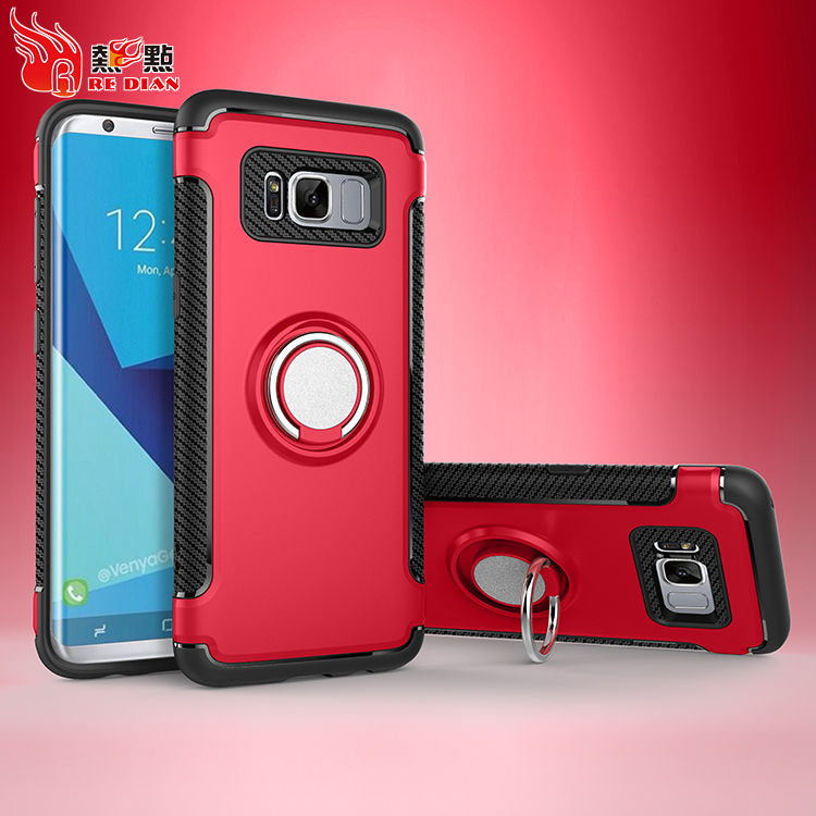 Factory direct supply ring protective case cover for samsung galaxy s8