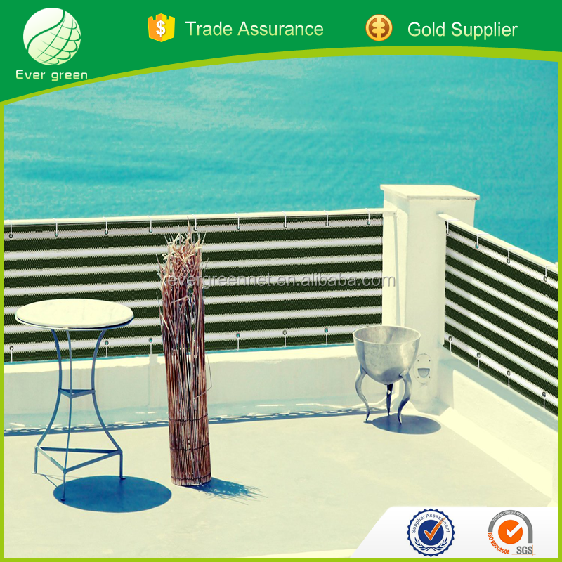 Cheap Colourful 100% HDPE Balcony Wind Screen