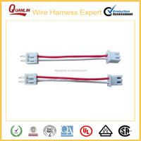 China custom electrical wire cable / electronic Molex Double wire harness manufacturer