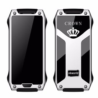 Factory Price vkworld Crown V8 IR Control/Bluetooth Call/ Pedometer/Anti Thief Mini Credit Card Size Dual SIM Card Mobile Phone