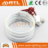 Wholesale led auto lighting full ring 3528 smd rgb angel eyes ring