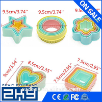 Fondant Cake Cookie Sugar Craft Cutters Decorating Molds Tool Set Kitchen Supplies