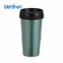 plastic tumbler cofffee mug with colored paper insert