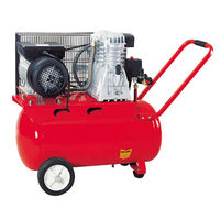 big red air compressor