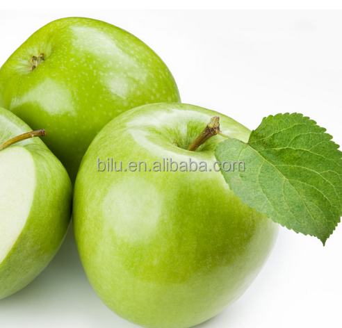 The Huaguan apple is the name of the green fruit from China