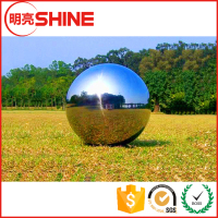Factory price 1500mm hollow stainless steel ball big for the garden