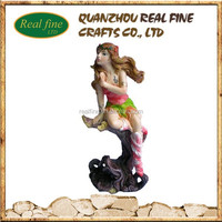 2015 new Polyresin figurine Sexy Girl Statue decor