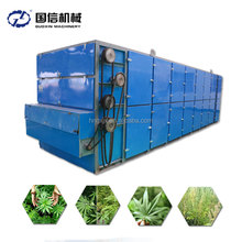 Continous working tomato mesh belt dryer