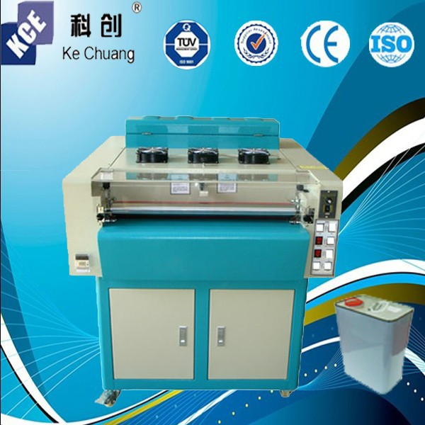 multi roller UV coating machine with auto paper feeder