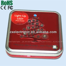 2013 Christmas innovation package wholesale cheap music boxes