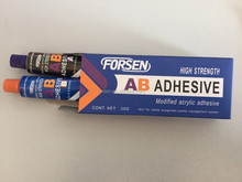 Two Components Modified Acrylate Adhesive High Strength 5 Minutes Fix