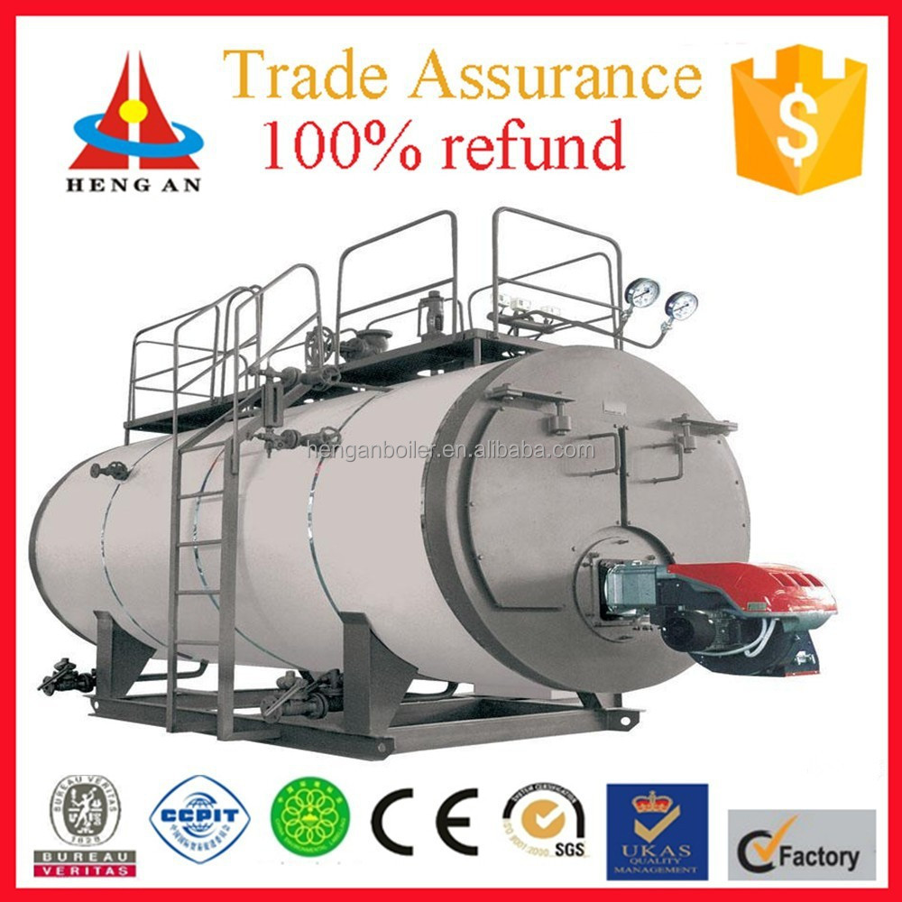 CE ISO BV certificate factory price fire tube trade assurance low pressure gas fired chain grate stoker boiler for sale