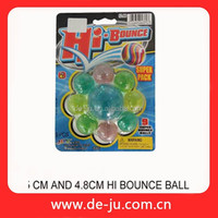 Plastic Sealed Package 4.5cm Hi Bounce Ball