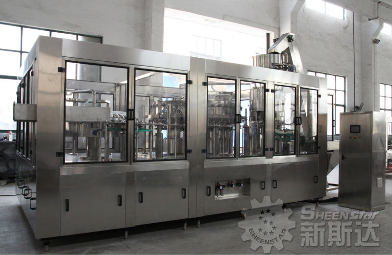 automatic water sealing and capping machine