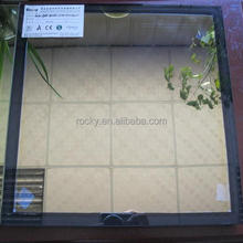 6mm golden glass +12a+6mm double glazing glass with CE AND AS/NZS