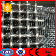 Stainless steel 6 mm opening crimped wire mesh/waterproof mesh screen