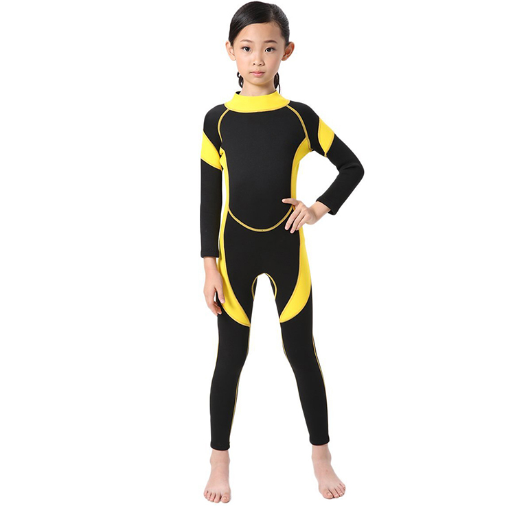 Fashion style children's wetsuits neoprene diving suit surf wetsuits