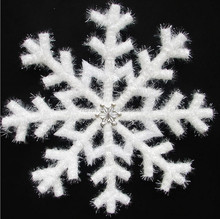 2016 good quality christmas decorating foam snowflake xmas tree decoration