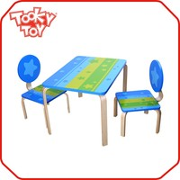 New design wooden children table, kids study table, wooden kids table for child