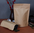 Wholesale Brown Kraft Paper Doypack with Zipper
