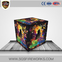 Europe popular battery cake fireworks consumer 25 shots fireworks cake for wholesale