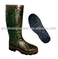 Camo. Rubber Wellington Boot