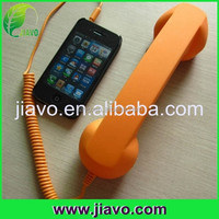 New pro usb telephone crystal mobile phone handset