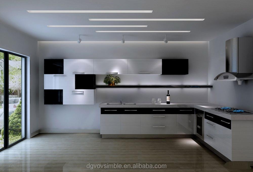 White Melamine Kitchen Cabinet Door - Buy Pvc Kitchen ...