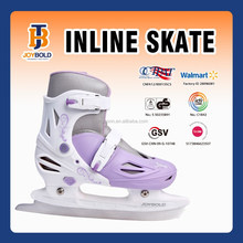 JOY BOLD NEW!short track ice speed skate blade,PU wheel,ice speed skate inline skate