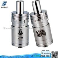 New rebuildable dripping atomzier 3D atomizer rebuildable helios atomizer
