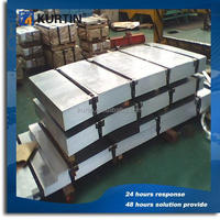 Hot selling density of galvanized steel sheet for building system