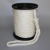 white color 18mm 3 strands twisted polyester rope with eye splice