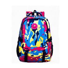 Best 600D polyester school bag for teenager girl boy backpack online shopping